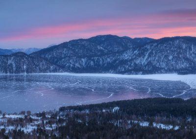 Вечер-на-Телецком-озере