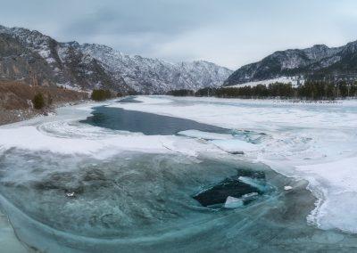 Голубой лед Катуни