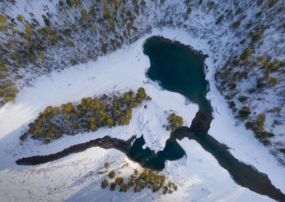 Голубые-озера-на--Кaтуни