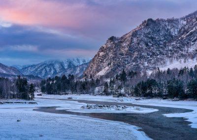 Зимняя Катунь
